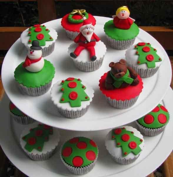 natal dica de ceia cupcake