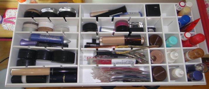 organizar make e cosmetico 4