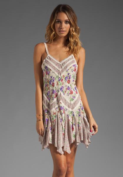 slip dress lyst