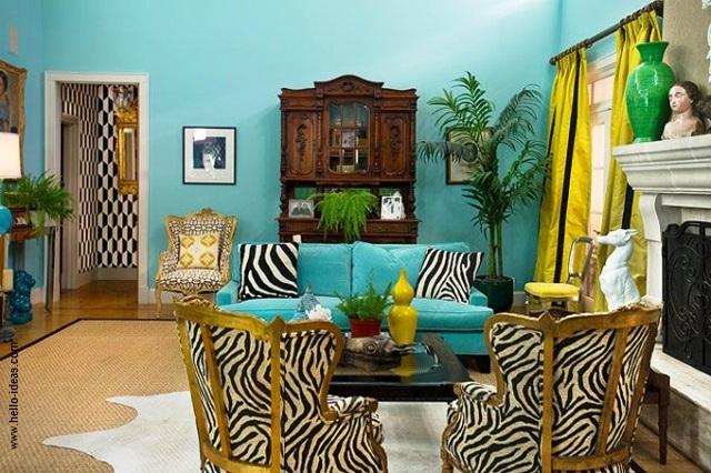 zebra na decoração 4