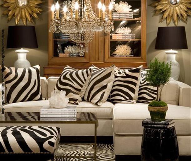 zebra na decoração 5
